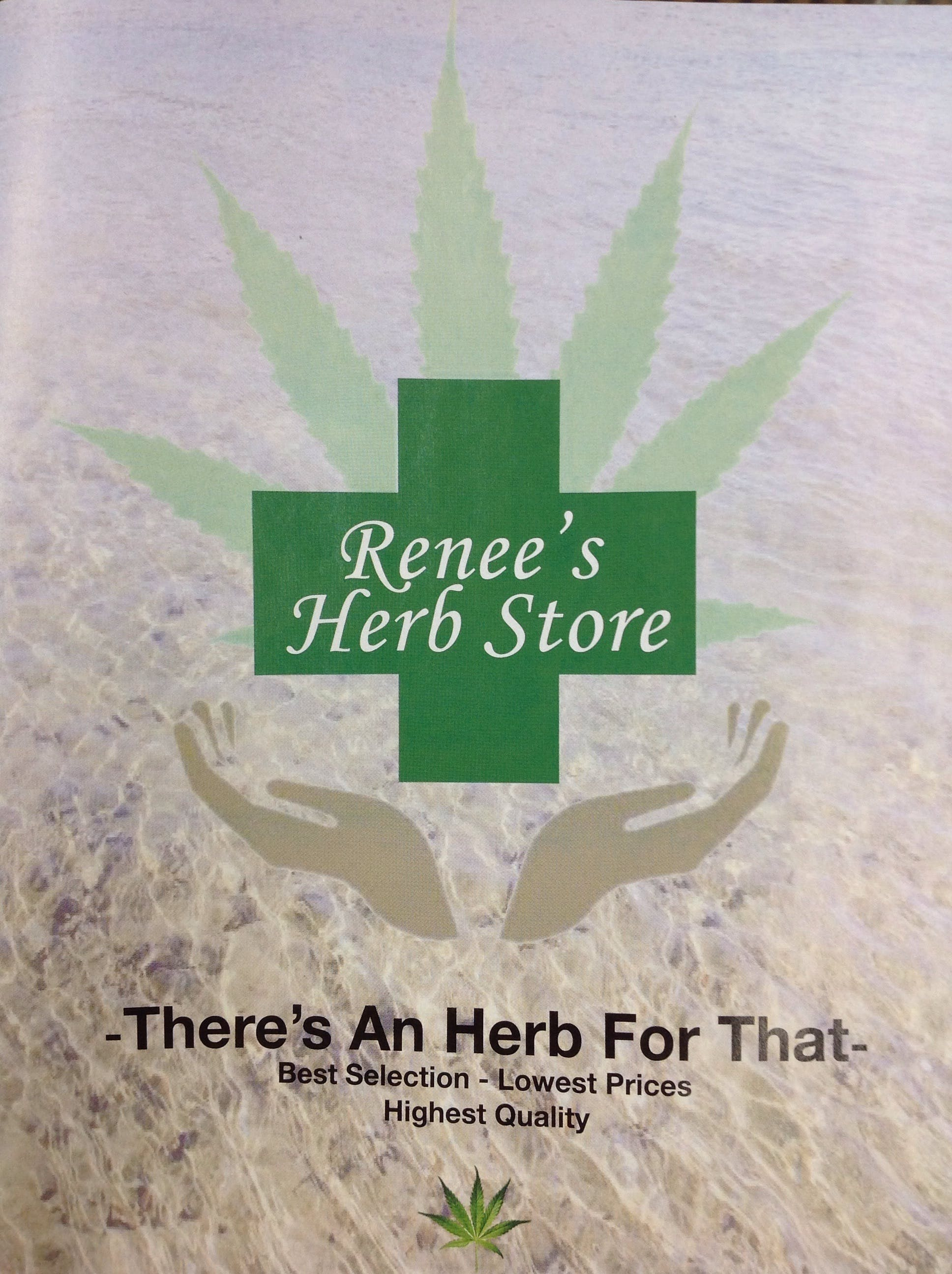 Renee's Herb Store - Medical Marijuana Doctors - Cannabizme.com